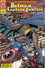 DC / MARVEL CROSSOVER # 23 - BATMAN / CAPTAIN AMERICA - DINO VERLAG 1998 - TOP