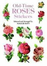 Dover Stickers Ser.: Old-Time Roses Stickers (1997, Paperback)