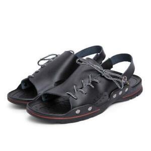 Summer Men Sandals Slipper Open Toe Anti-slip Outdoor Beach Casual Shoes US 6-12