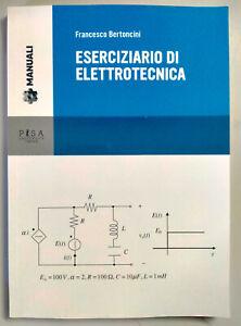 Eserciziario di elettrotecnica Francesco Bertoncini Libro come foto N