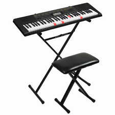 NEW - Casio LK-265 Lighted Keyboard with Stand & Bench (Synthesizer/Piano)