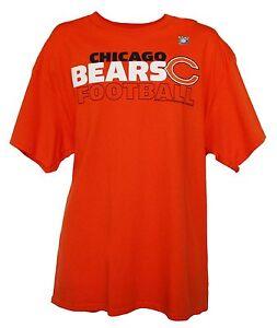 Chicago Bears NFL Junk Food Men's Block Style Graphic T-Shirt