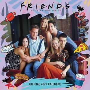 Friends 2022 Square Wall Calendar, Official Merchandise