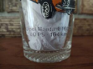 Vintage Opel Manta L 1600S Glass