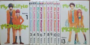 My Little Monster 11 Vols.English Manga Graphic Novels Brand New Lot (no #2,11)