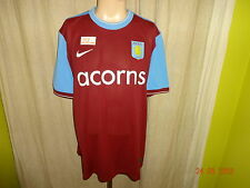 "Aston Villa FC Original Nike Heim Trikot 2009/10 ""acorns"" Gr.XXL TOP"