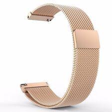 16mm 18mm 20mm 22mm 23mm Milanaise Loop Edelstahl Armband Band Uhrenarmbänder