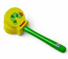 Kids Preferred Eric Carle Very Hungry Caterpillar WOOD CLACKER Musical~NEW~