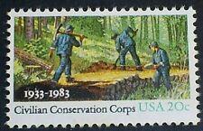 U.S. Scott # 2037 CCC 50th Anniversary  MNH OG F-VF