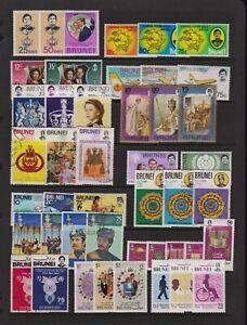 Brunei - 15 Commemorative sets, cat. $ 33.80