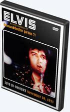 Elvis: Boston Garden November 10, 1971 (Live In Concert) DVD