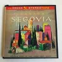 ANDRES SEGOVIA Granada ST74 10063 Reel To Reel 7 1/2 IPS Decca