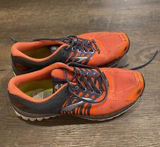 New listing Brooks Mens Glycerin 11 Grey Orange Running Walking Tennis Shoes Size 11.5 D