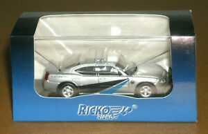 1/87 HO Scale 2006 Dodge Charger Pursuit State Patrol Police Car - Ricko 38068