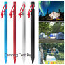 4Pcs23cm Heavy Duty Steel Metal Tent Canopy Camping Tent Stakes Pegs Ground Nail