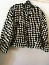 Tapestries Ireland Black and White Check Jacket