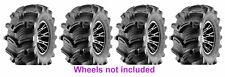 (2) 27X10-12 & (2) 27x12-12 New Kenda K538 Executioner ATV Mud Tire Set
