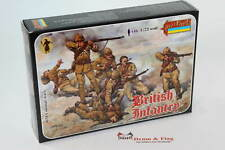Strelets Set #38 - British Infantry - Colonial Wars - 1/72 Scale