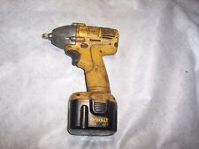 used dewalt 12 volt cordless impact wrench .