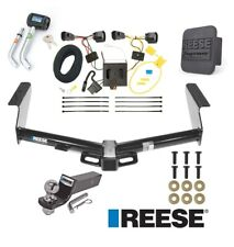 """Reese Trailer Tow Hitch For 08-12 Jeep Liberty Deluxe Wiring 2"""" Ball and Lock"""