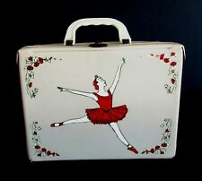 1960 Vintage Rare R10 Ballerina Vinyl Lunchbox Canadian issued Wow !!!!