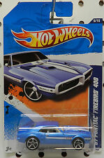 FIREBIRD 2011 400 BLUE SWEET 1967 86 6 PONTIAC HW HOT WHEELS