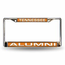 Tennessee Volunteers Alumni NCAA Chrome Metal Laser Cut License Plate Frame
