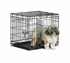 Midwest iCrate 1524DD Double Door Folding Dog Pet Crate - I-1524DD