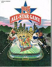 1985 BASEBALL ALL STAR OFFICIAL  PROGRAM MINNESOTA COMPLETE MINICARD INSERT SET