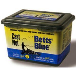 "Betts 17MB-6 Professional Mono Blue 1Lb/Foot 3/8"" Mesh 6' Fishing Cast Net"