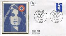 FRANCE FDC - 2906 1 MARIANNE DU BICENTENAIRE - 5 Juillet 1994 - LUXE sur soie