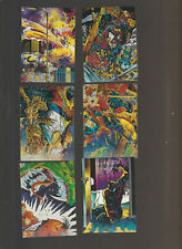 Lot of 6 Spiderman McFarlane Era trading cards Pub. 1992