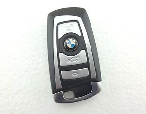 BMW 7 Series F01, Etc. 4 Button Remote Smart Key Fob - 9 259 717-02 (Tested)