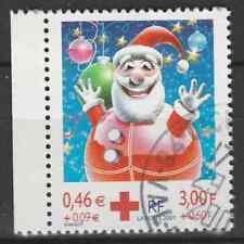 France 2001 n°3436a YT - Croix rouge Fêtes de fin d'année oblitéré