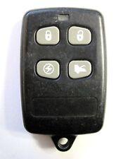 keyless remote Command Start car alarm red LED 4 button starter transmitter fob