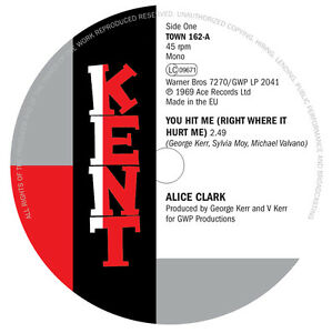 Alice Clark - You Hit Me b/w The Devonnes - I Couldn't Build A World (TOWN 162)