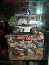 JUNIOR TOYS SUPER MOON PATROLER BATTERY OPERATED SPACE TOY ORIGINAL BOX JAPAN