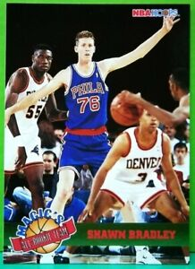 Shawn Bradley insert card Magic's All-Rookie 1993-94 Skybox Hoops #2