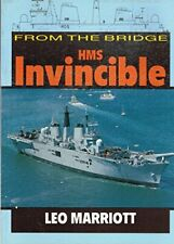 """From the Bridge: H. M. S. """"Invincible by Marriott, Leo Paperback Book The Cheap"""