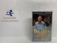 (LN) Charlton Heston Present THE WORD The Life & Teaching Of Jesus Cassette Tape