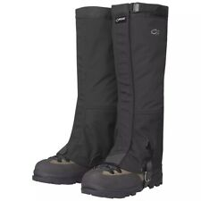 OR Outdoor Research Men's Crocodile Gaiters Black Large