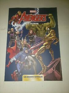 Comics Marvel Les grandes batailles 01 Avengers vs Ultron 240 pages bd 1