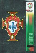 Panini 103 Logo Emblem Portugal UEFA Euro 2008 Austria - Switzerland