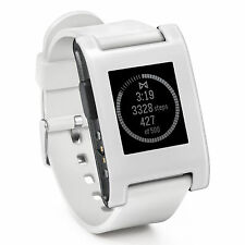 NEW with box Pebble Smartwatch Watch Arctic White 301WH Android iPhone