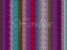 NORO ::Kureyon #349:: wool knitting yarn Purple-Violet-Aqua-Nut-Magent