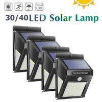 30-70LED Solare Pir Motion Sensore Muro Lampada Esterno Impermeabile da Sentiero