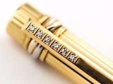 Cartier Must de Cartier LE Fountain Pen - Gold Vermeil and Diamonds