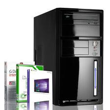 PC Computer Intel Quad Core 4x2.4GHz 8GB USB 3.0 Windows J1900 Rechner Komplett
