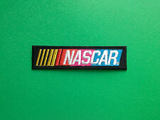 MOTOR RACING OILS, FUELS & TYRES SEW ON / IRON ON PATCH:- NASCAR THIN STRIPE