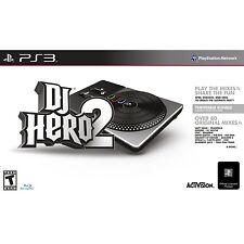 PS3 DJ Hero 2 Bundle - Turntable + Game